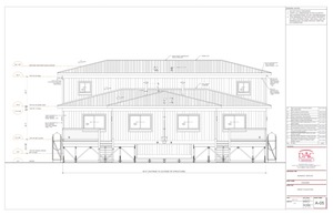 Arctic Duplex, Arctic Multi-family Housing, Panelized, SIP, Iqaluit, Nunavut Housing