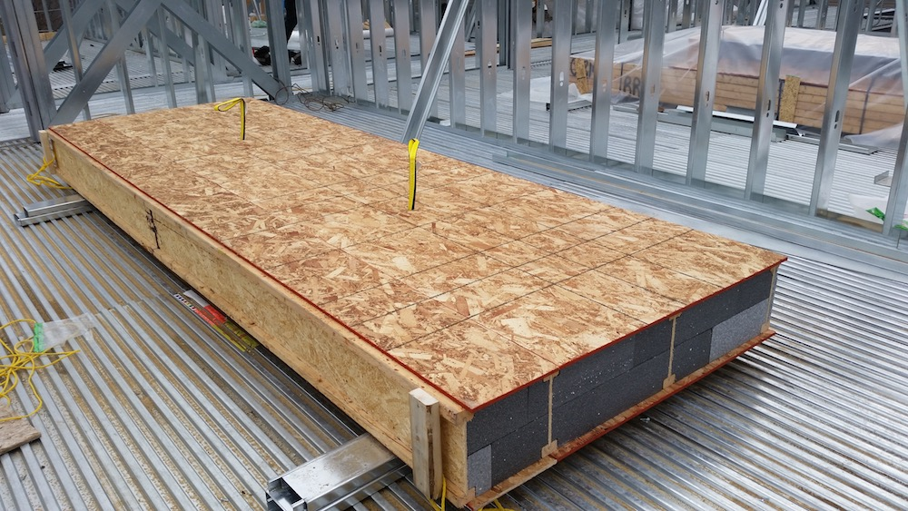 SIP Roof Panel, Neopor EPS, PassivHaus, Passive House, Panel Construction