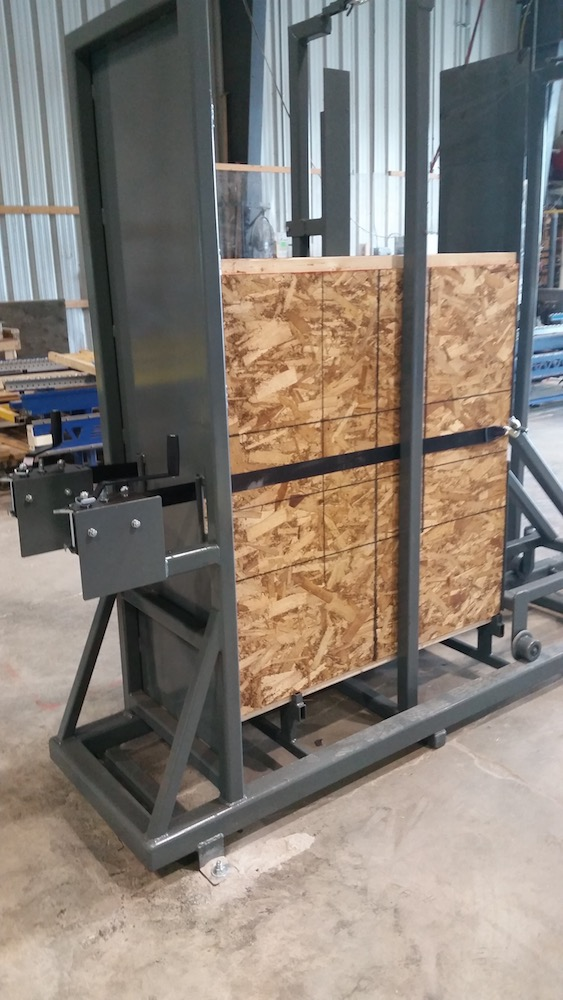 Panel Making Jig, Hybrid SIP I-joist, Off-Site Construction