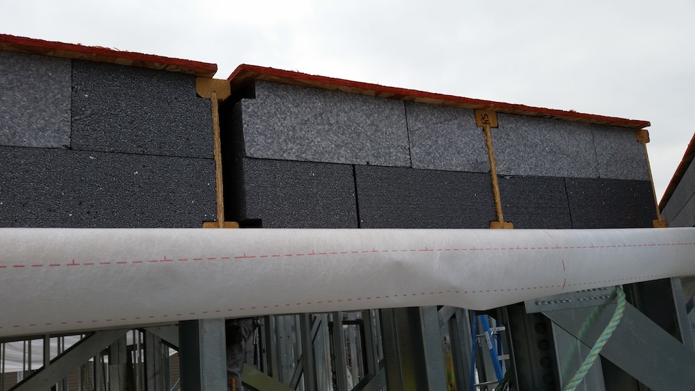 SIP Connection, SIP I-Joist Hybrid, Neopor EPS, Passive House, Roof Panels