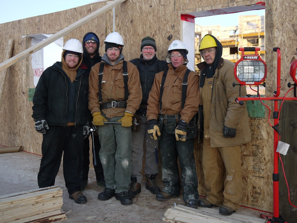 Arctic Construction Crew, SIP, Panels, Iqaluit