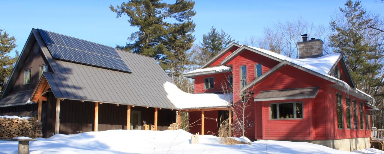 LEED Platinum, Net Zero, Cold Climate Housing